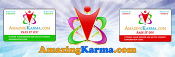 What Goes Around, Comes Around with AmazingKarma