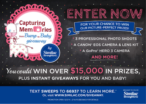 HUGE Giveaway with Similac StrongMoms!! Instant Winners +