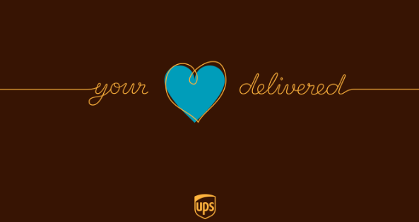 your heart delivered ups holiday campaign