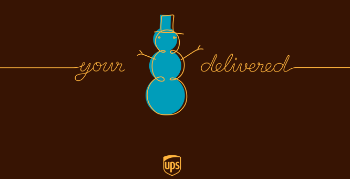 your delivered ups holiday campaign