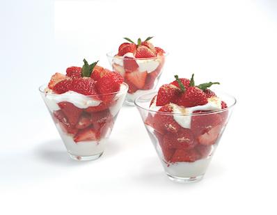 Florida Strawberry Parfait Recipe