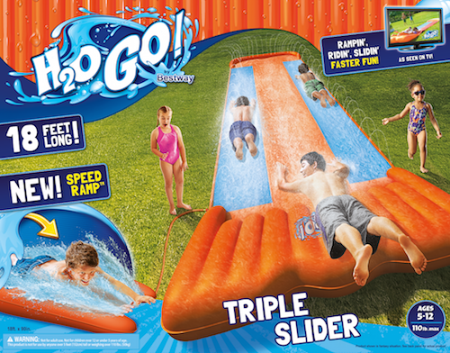 picture of a waterslide box